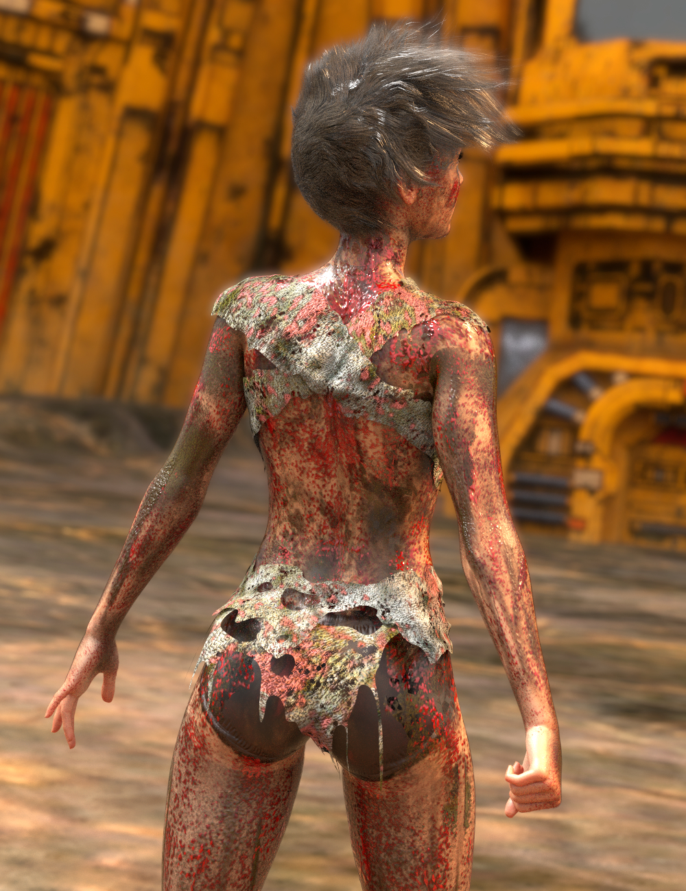 SY A Big Mess for Genesis 8 by: Sickleyield, 3D Models by Daz 3D