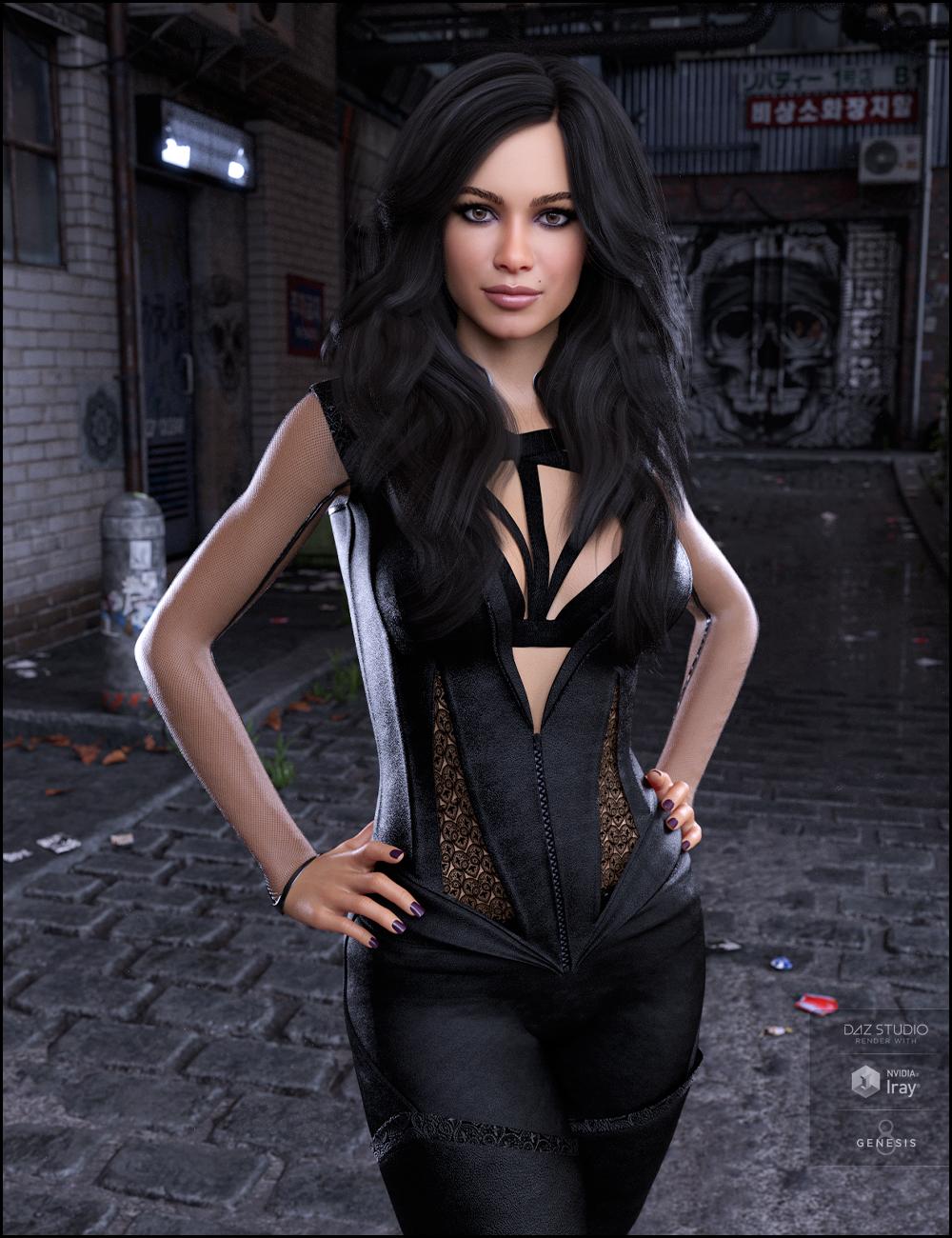 Isabelle for Gabriela 8 by: DemonicaEviliusJessaii, 3D Models by Daz 3D
