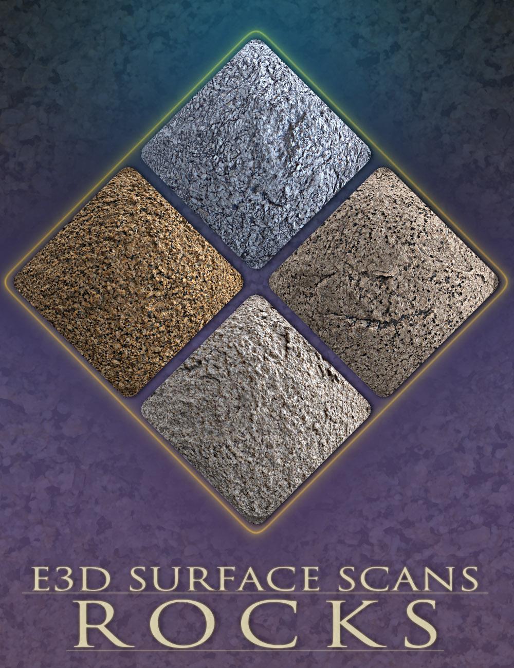 E3D Surface Scans - Rock Textures and Merchant Resource by: EcoManiac3D, 3D Models by Daz 3D