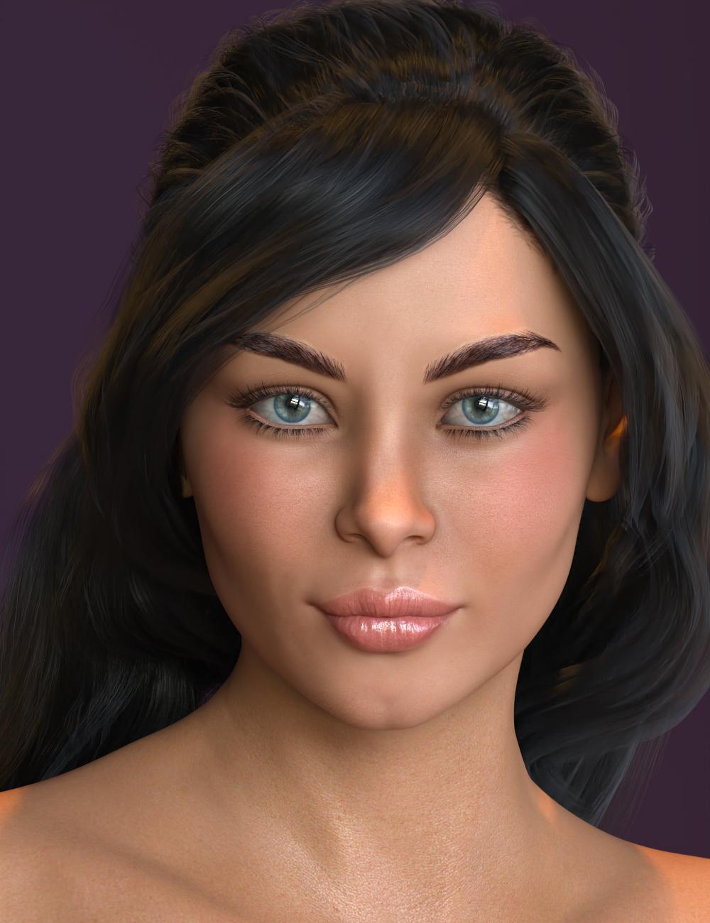 Skylar HD for Gabriela 8 by: 3DSublimeProductionsVex, 3D Models by Daz 3D