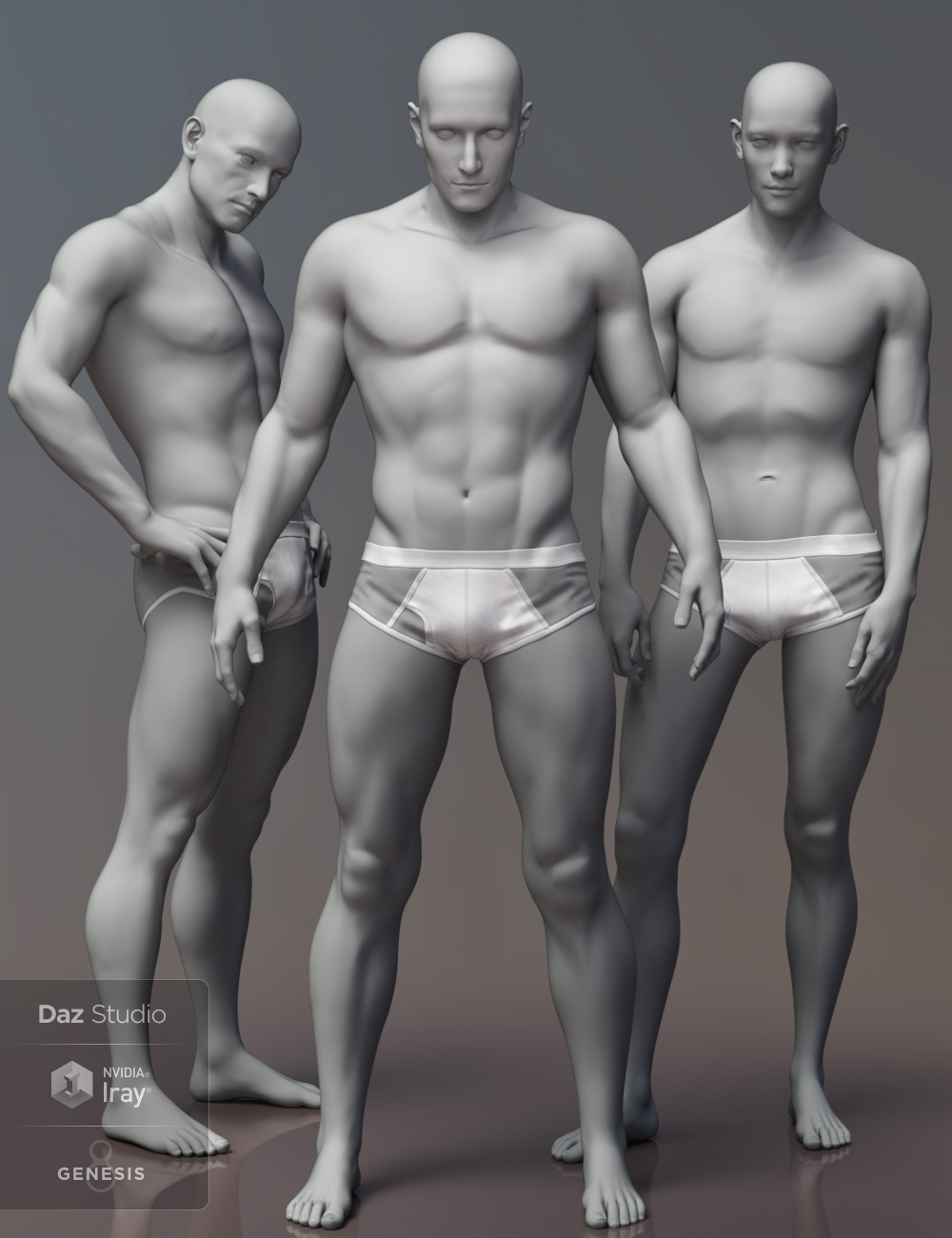 Leading Male Morph Collection for Genesis 8 Male(s) by: Darwins Mishap(s), 3D Models by Daz 3D