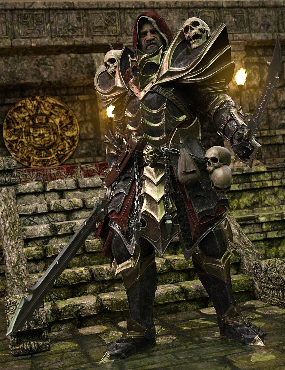 Dark Guard HD Bundle by: Luthbel, 3D Models by Daz 3D