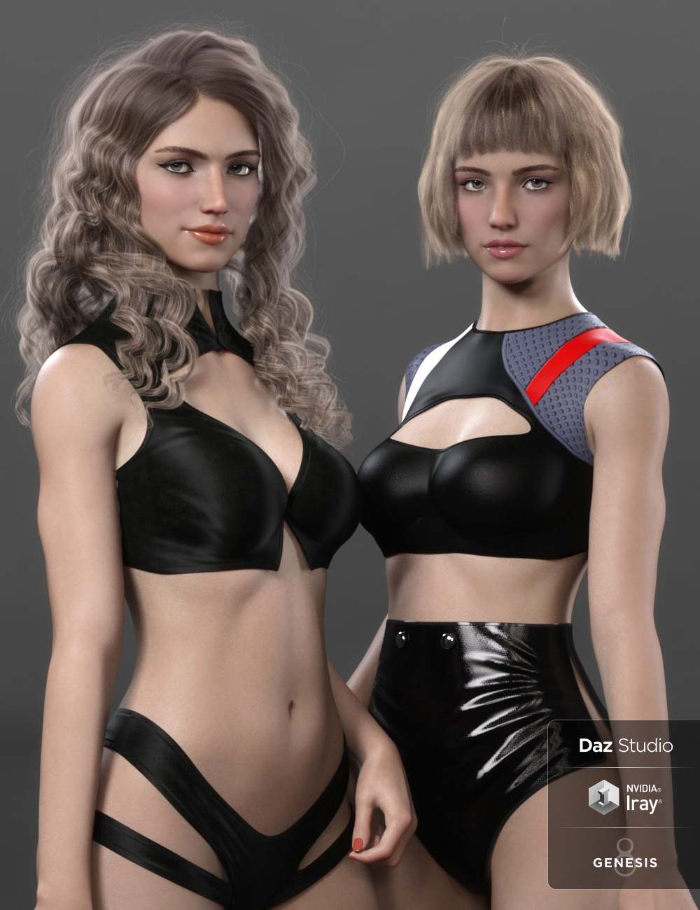 Verena for Genesis 8 Female by: Cherubit, 3D Models by Daz 3D