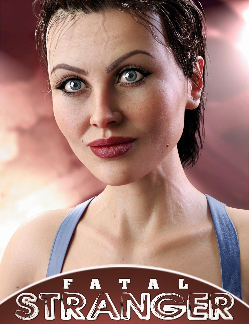 Fatal Stranger HD for Genesis 8 Female by: AlFan, 3D Models by Daz 3D