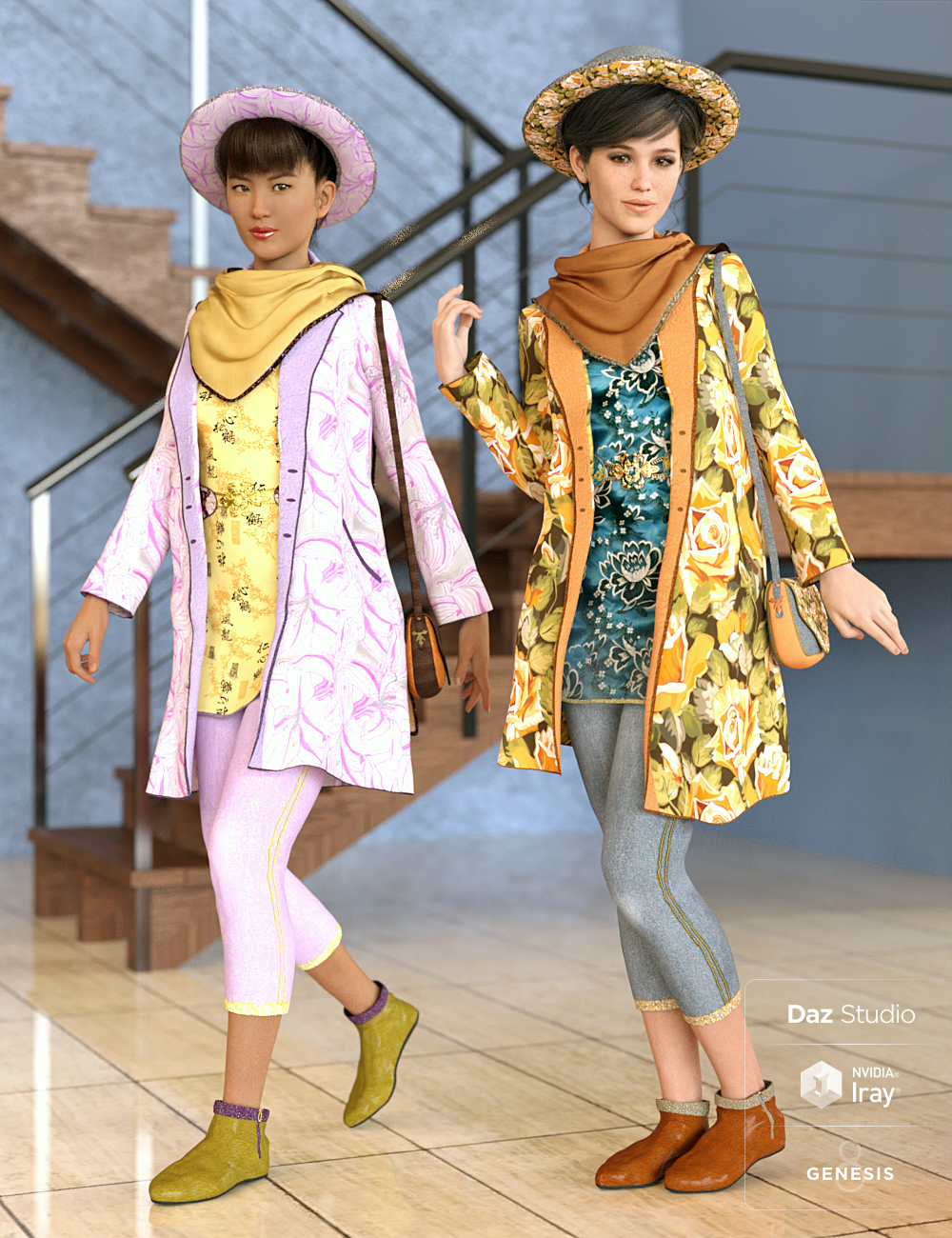 Summer Accents by: Dark-Elf, 3D Models by Daz 3D