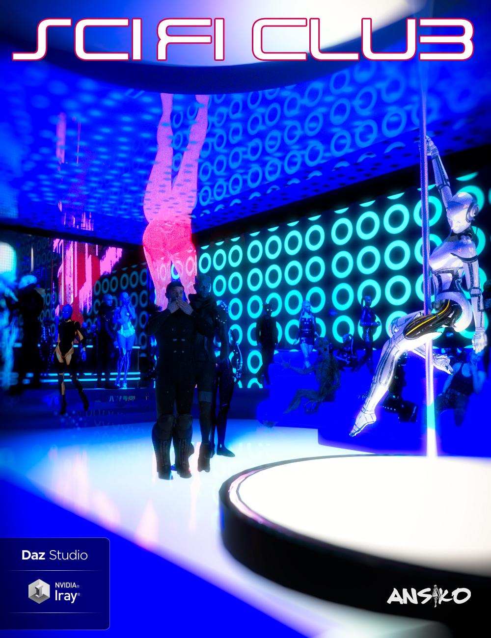Sci-Fi Club by: Ansiko, 3D Models by Daz 3D