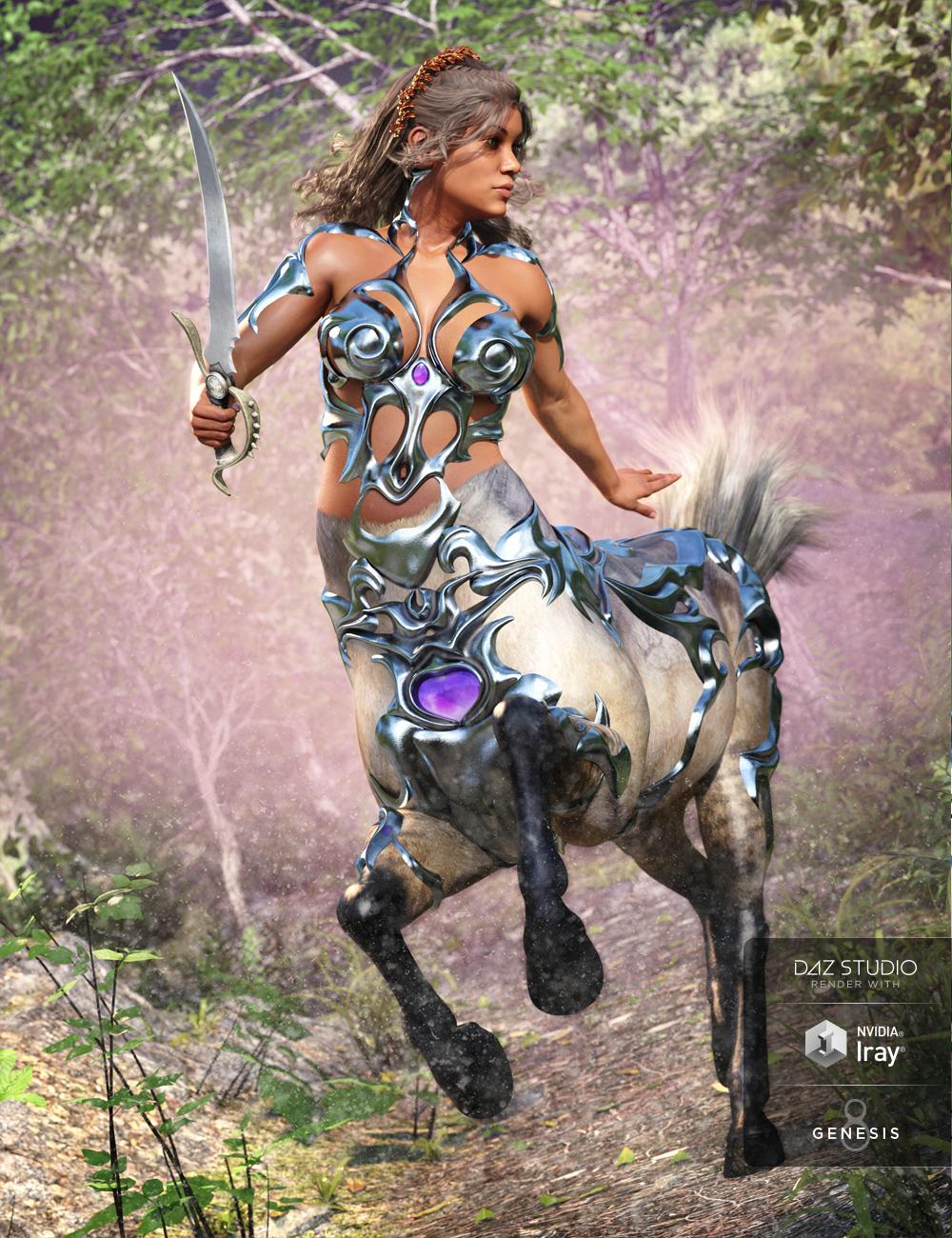 Forest Queen for Centaur Female 8 by: Moonscape GraphicsNikisatezSade, 3D Models by Daz 3D