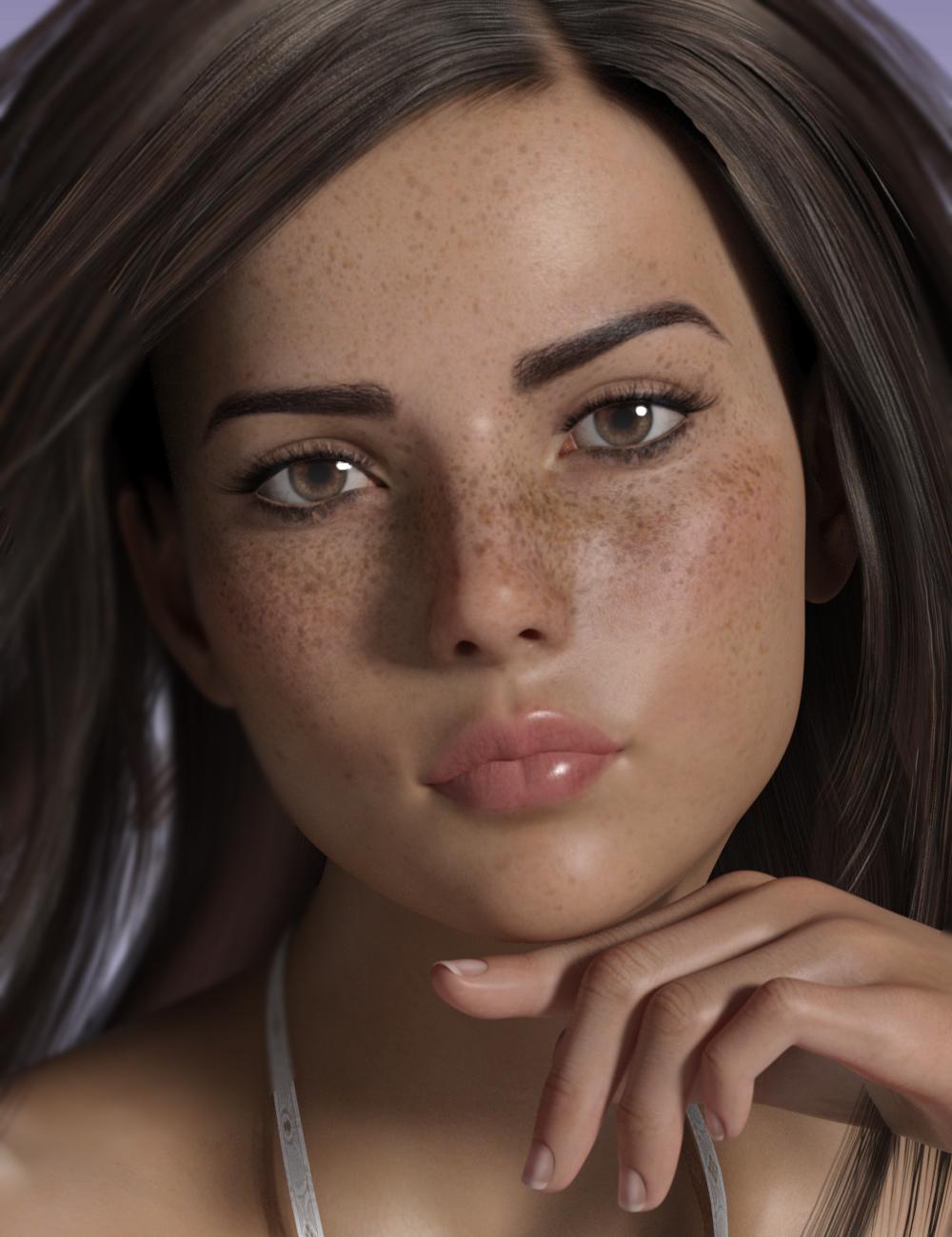 P3D Harper for Genesis 8 Female by: P3Design, 3D Models by Daz 3D
