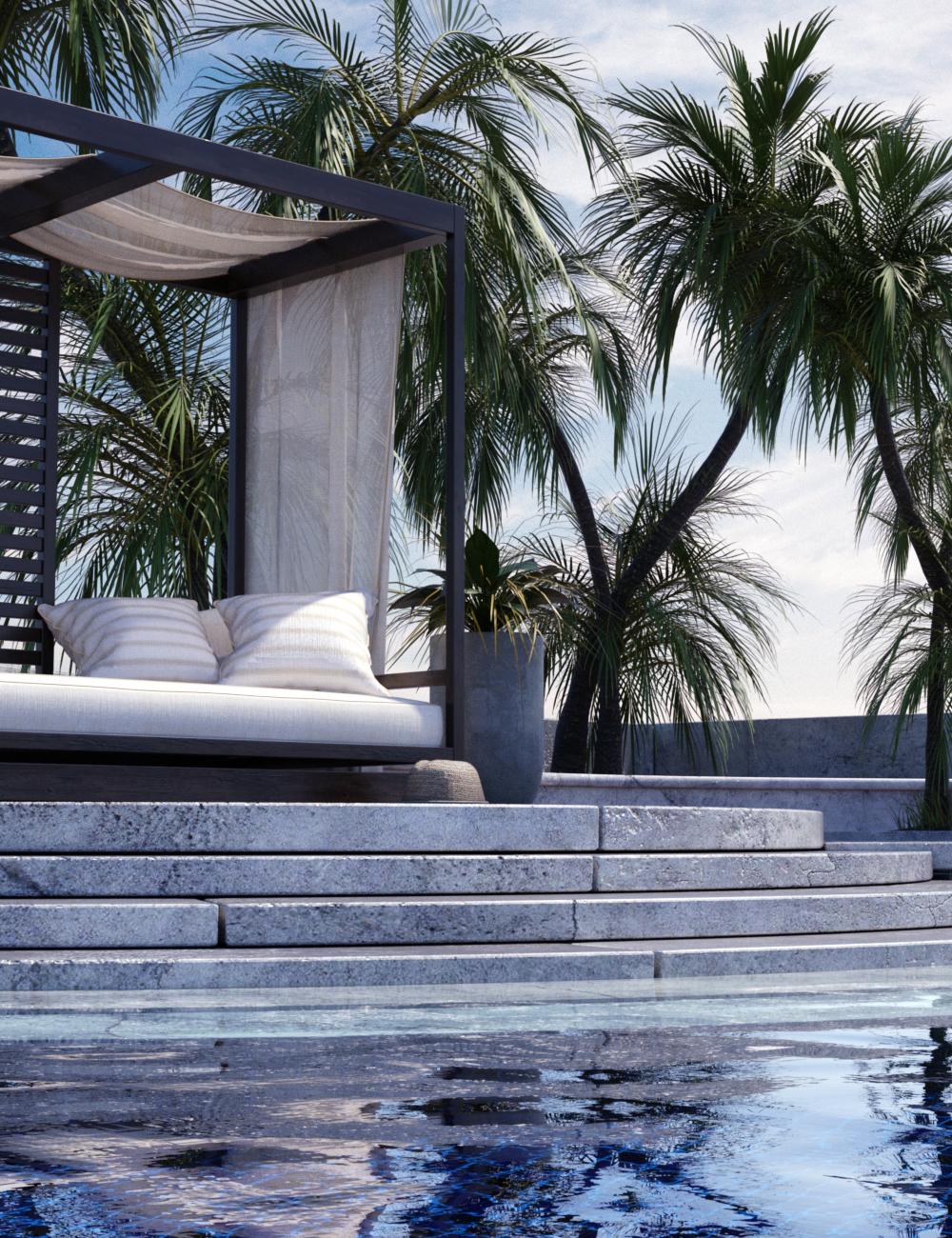 DGV Palm Resort by: DG Vertex, 3D Models by Daz 3D