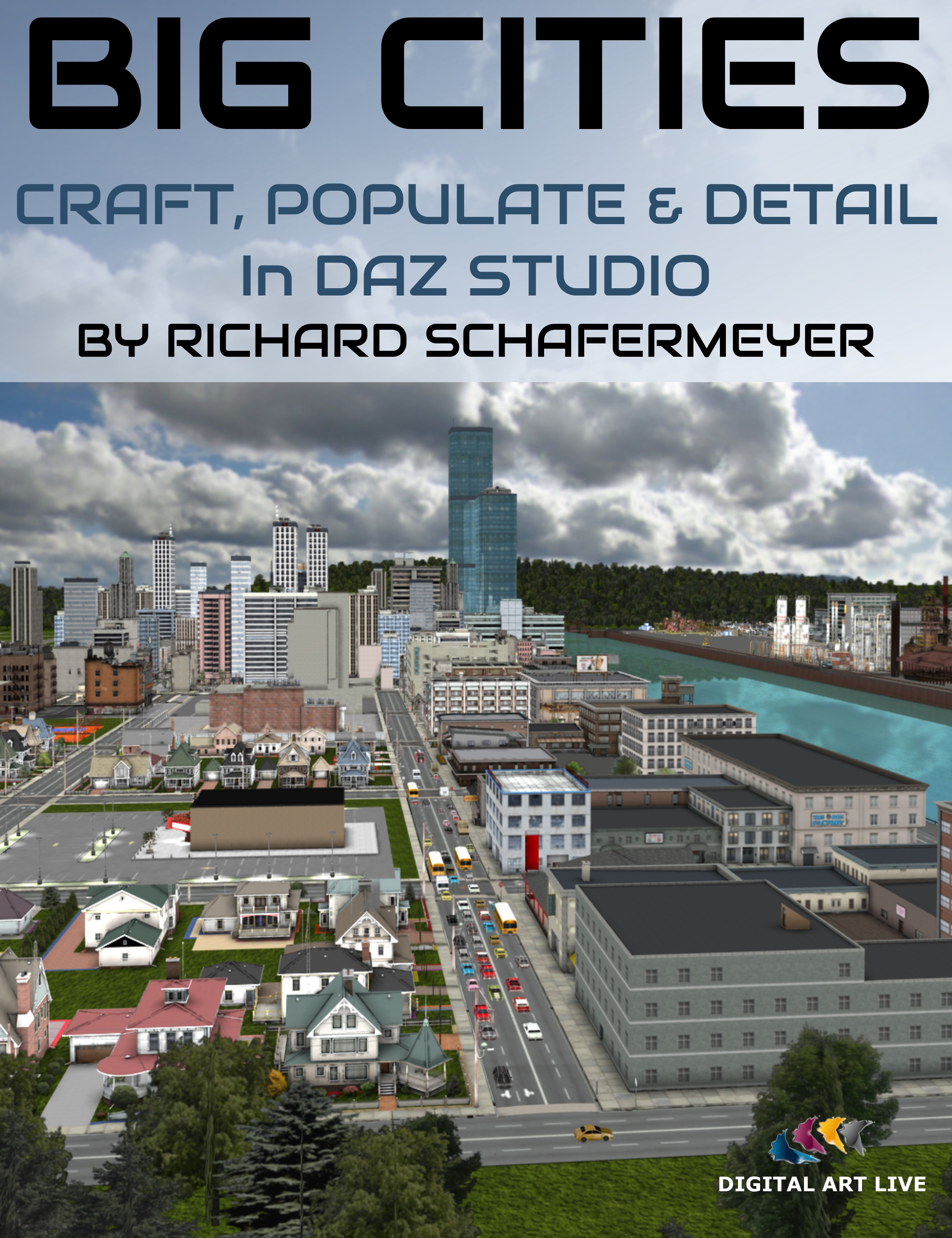How to Craft and Populate and Detail Big Cities in Daz Studio by: Digital Art Live, 3D Models by Daz 3D