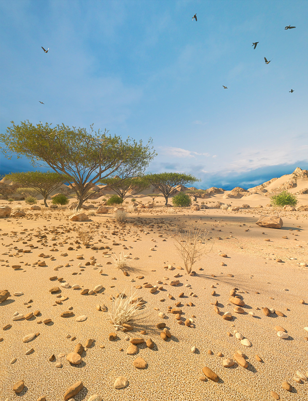 Desert Depression by: Predatron, 3D Models by Daz 3D