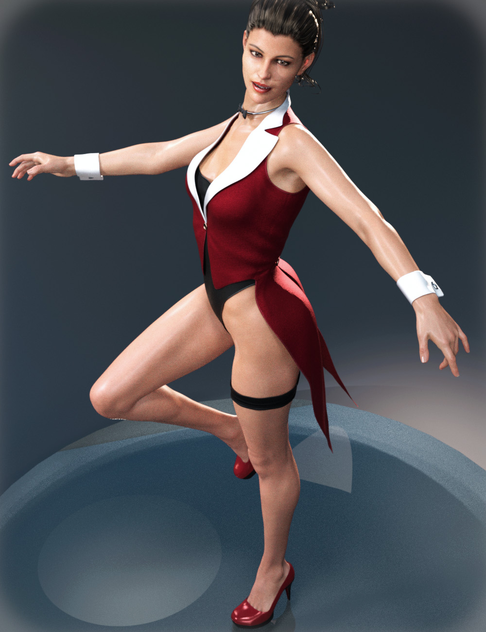 Show Girl Costume for Genesis 8 Female(s) by: tentman, 3D Models by Daz 3D