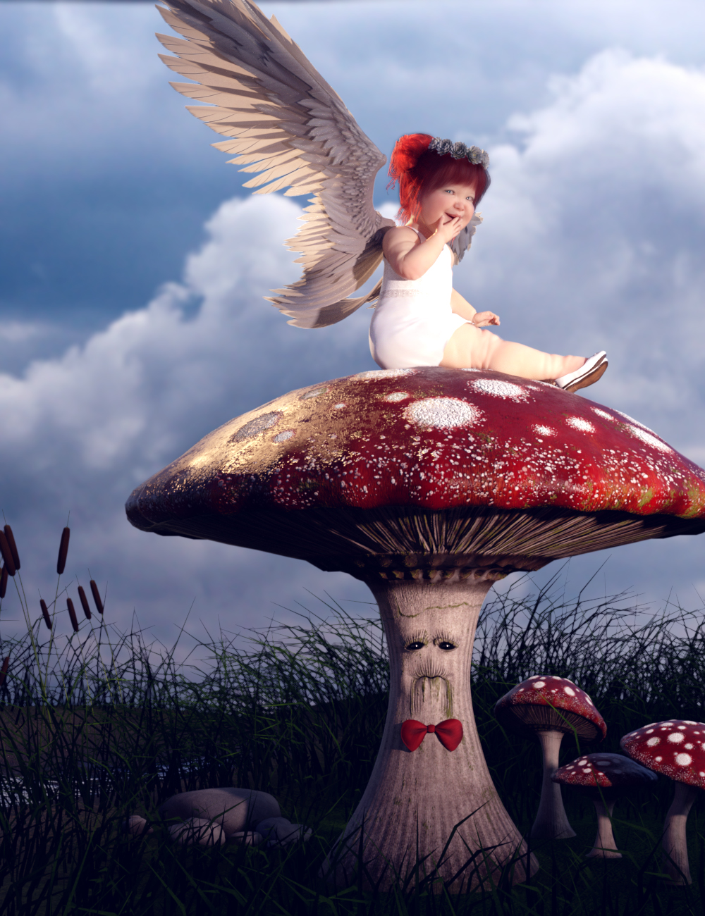 Mister Mushroom by: ARTCollaborations, 3D Models by Daz 3D
