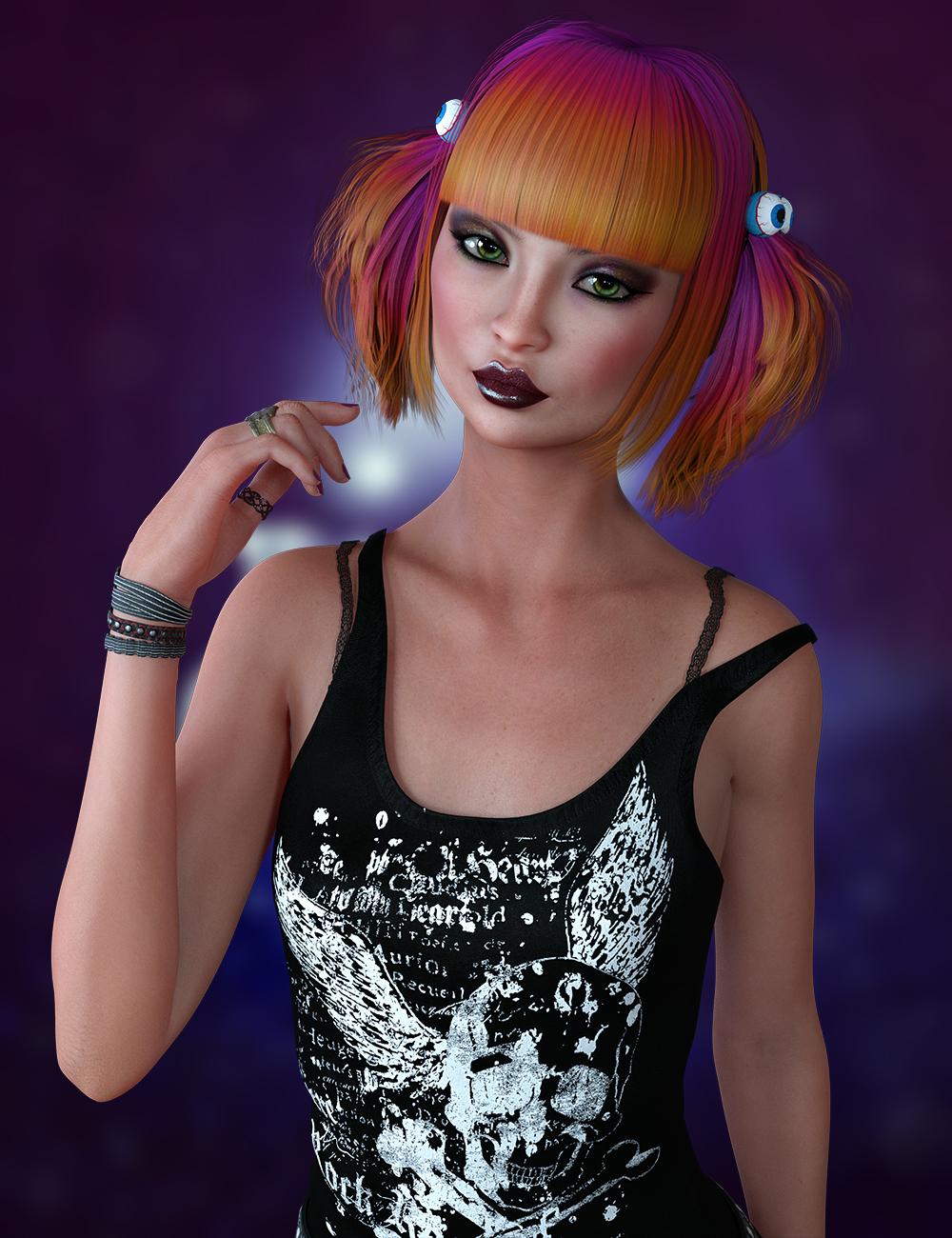 Kikury for Genesis 8 Female by: hotlilme74, 3D Models by Daz 3D