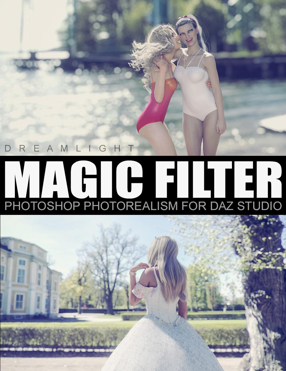 Magic Filter - Photoshop Photorealism for Daz Studio by: Dreamlight, 3D Models by Daz 3D