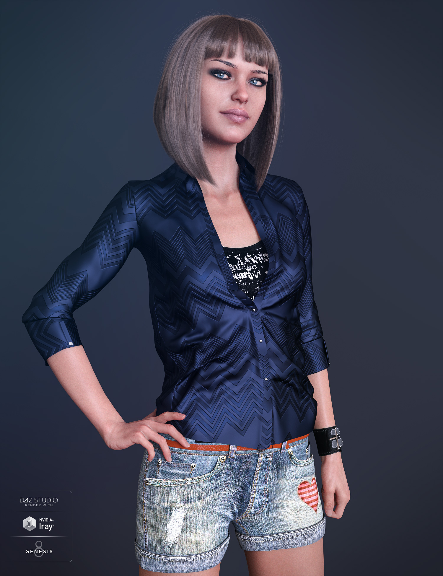 Teen Raven 8 by: , 3D Models by Daz 3D