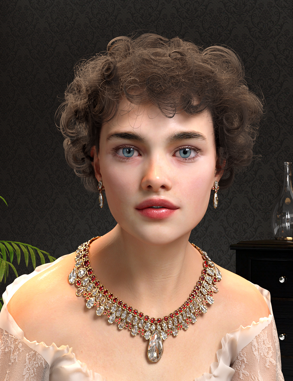 Nikolina for Genesis 8 Female by: Virtual_World, 3D Models by Daz 3D
