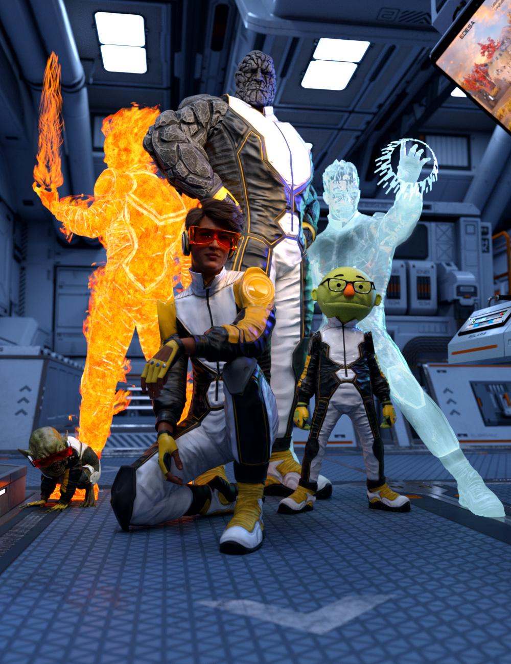 H-Suit for Genesis 8 Male(s) by: JoeQuick, 3D Models by Daz 3D