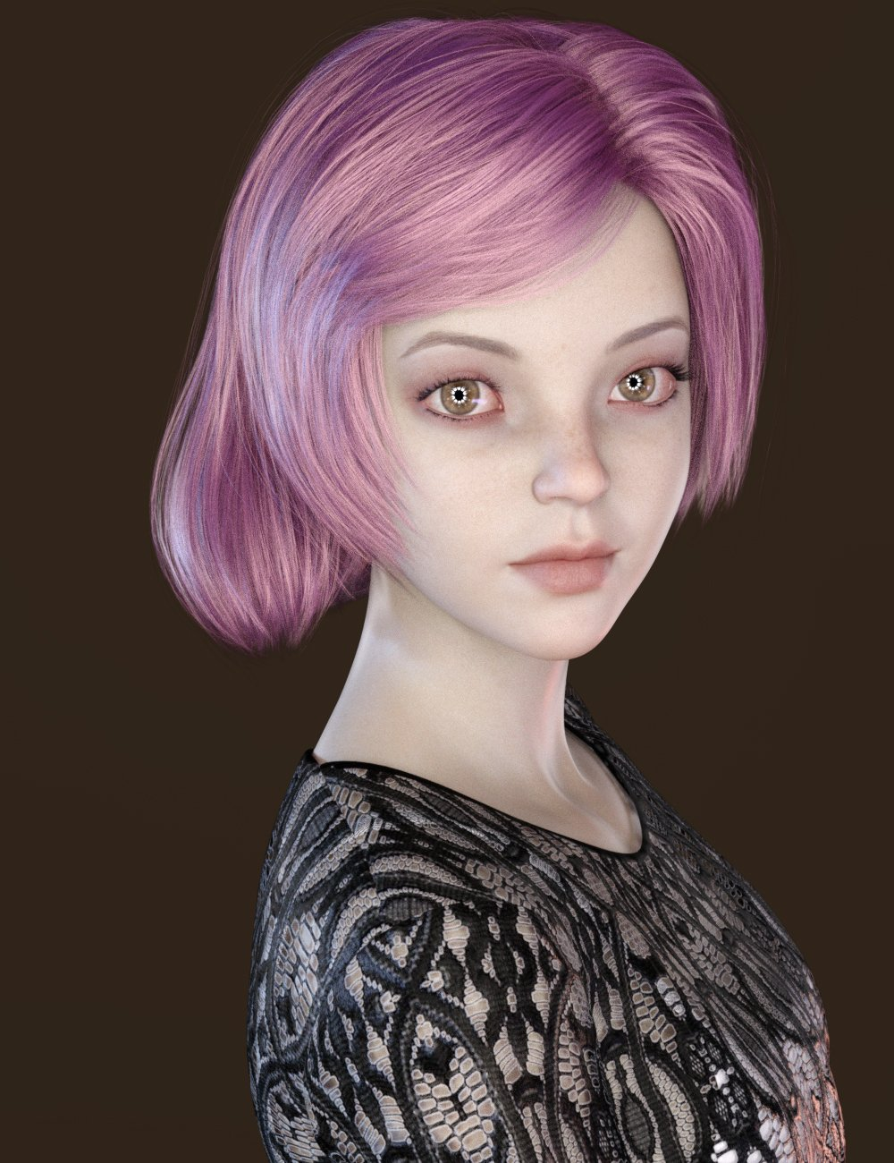 JingLing Character and Hair For Genesis 8 Female(s) by: Sprite, 3D Models by Daz 3D