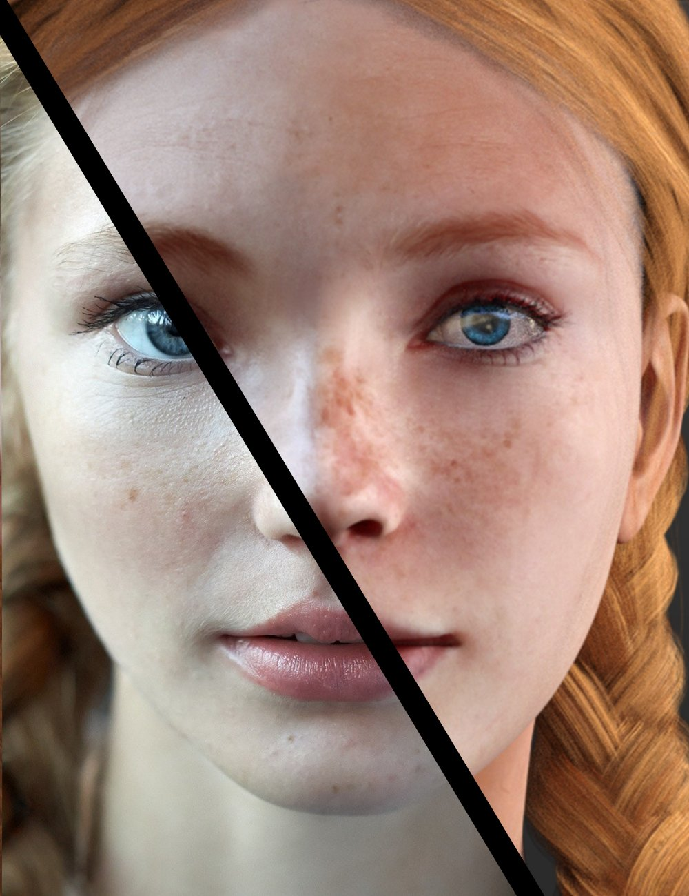 Face Transfer Unlimited by: itSeez3D, 3D Models by Daz 3D