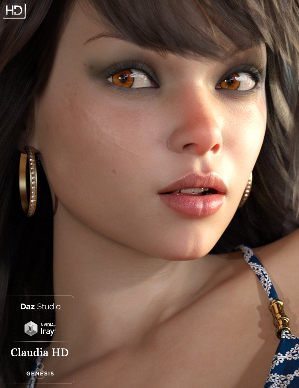 Claudia Octavia HD For Genesis 8 Female by: iSourceTextures, 3D Models by Daz 3D
