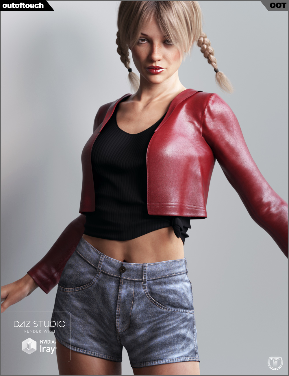 dForce Dallas Closet for Genesis 8 Female(s) by: outoftouch, 3D Models by Daz 3D