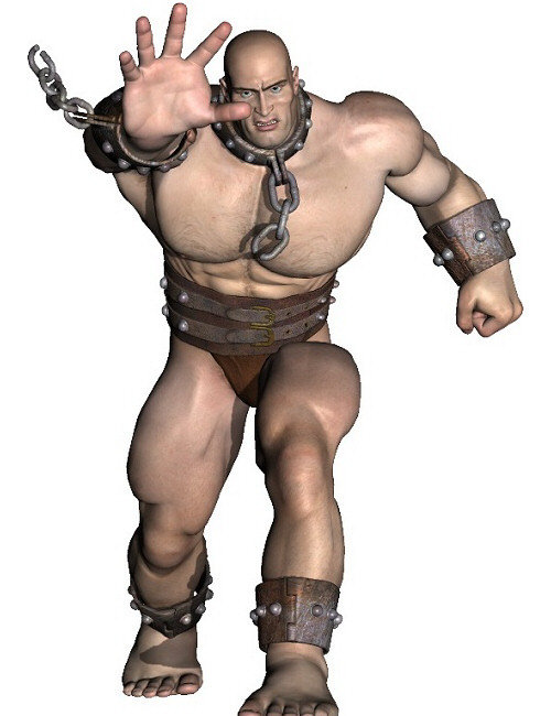 Battling Freak Poses by: Digiport, 3D Models by Daz 3D
