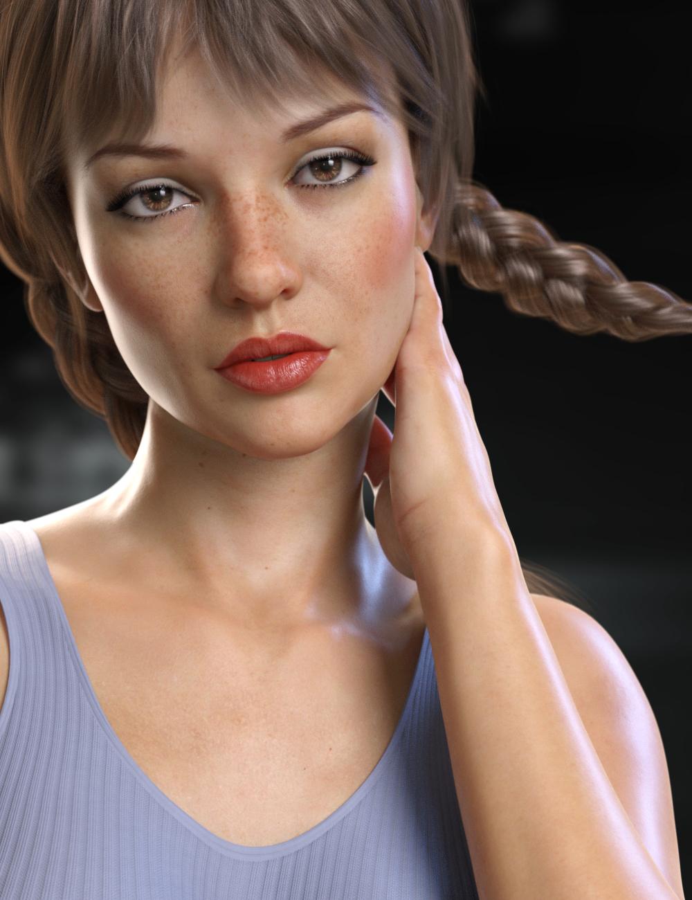 RY Dallas for Victoria 8 by: Raiya, 3D Models by Daz 3D