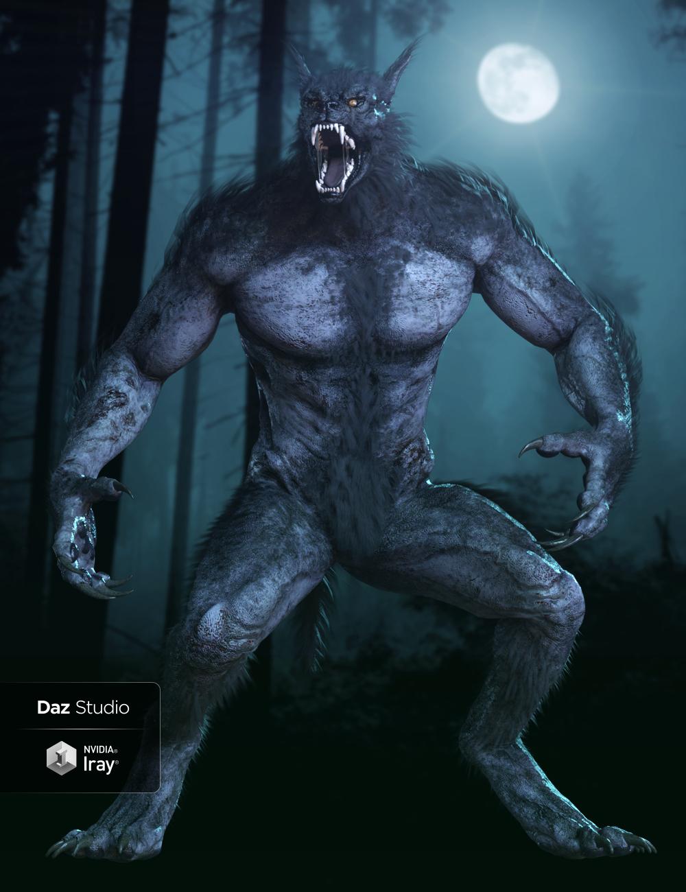 HH Werewolf by: Herschel Hoffmeyer, 3D Models by Daz 3D