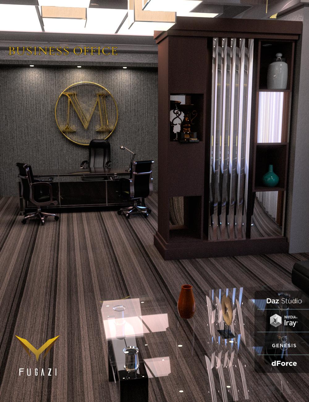 FG Business Office by: Fugazi1968, 3D Models by Daz 3D