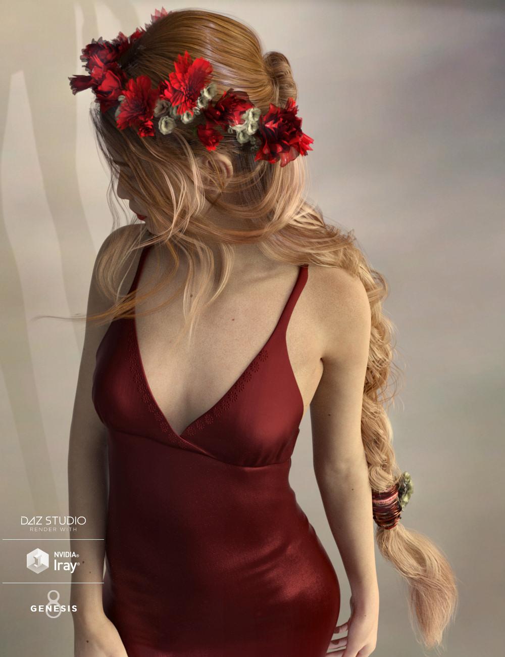 Arion Braid for Genesis 3 and Genesis 8 Female(s) by: goldtassel, 3D Models by Daz 3D