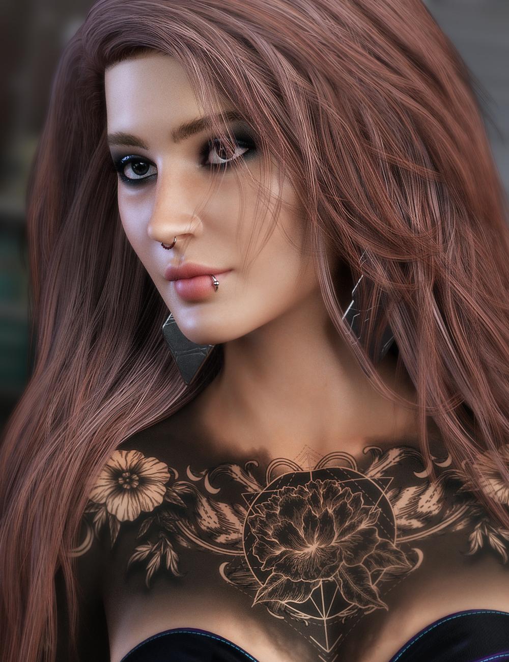 Drew for Genesis 8 Female(s) by: SR3, 3D Models by Daz 3D