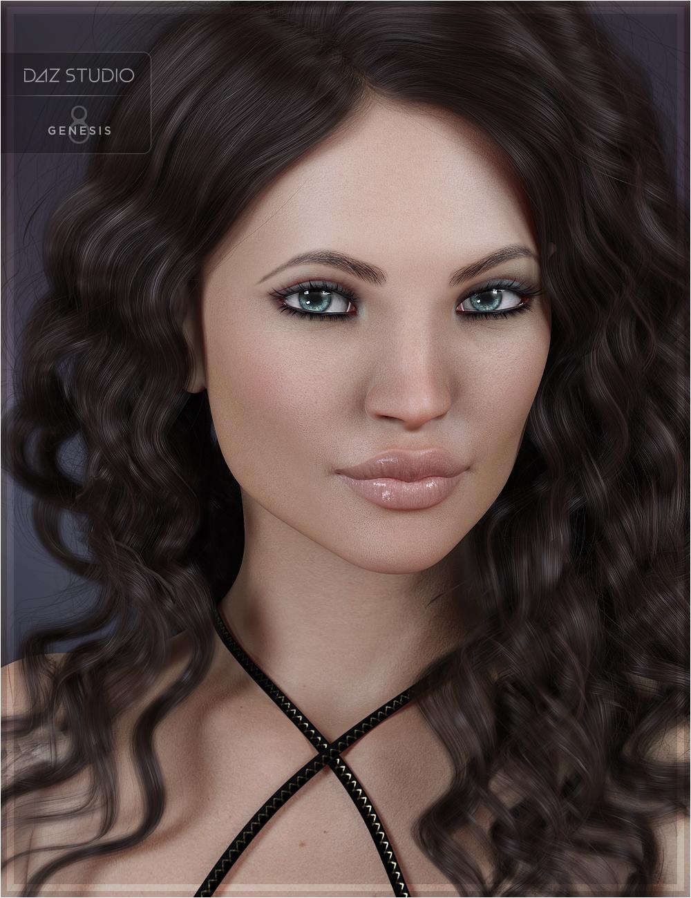 Bahari for Genesis 8 Female by: OziChickTwiztedMetal, 3D Models by Daz 3D