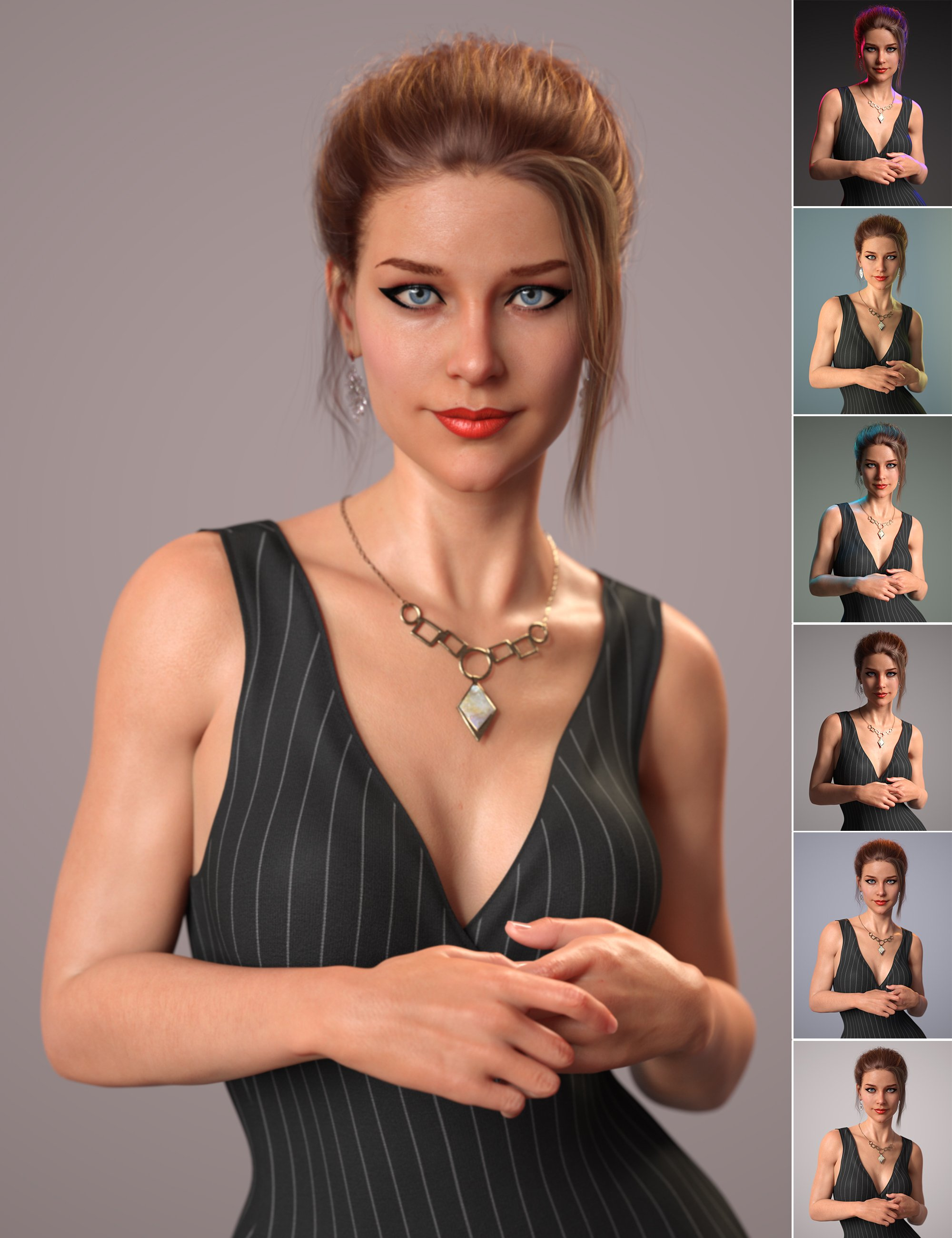 Click N Render IBL Set by: Cake One, 3D Models by Daz 3D