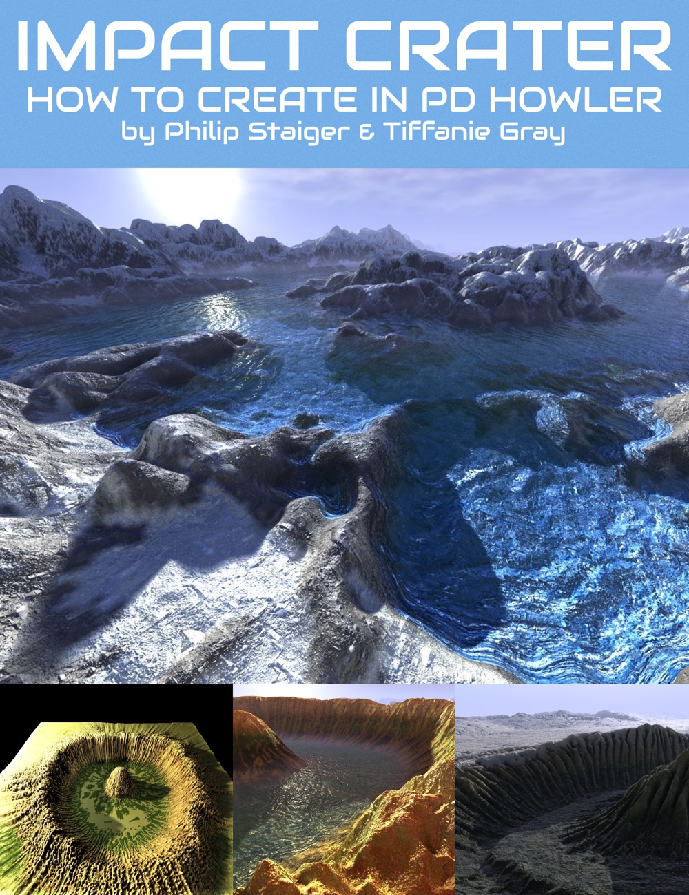 How to Create a 3D Impact Crater Scene in PD Howler by: Digital Art Live, 3D Models by Daz 3D