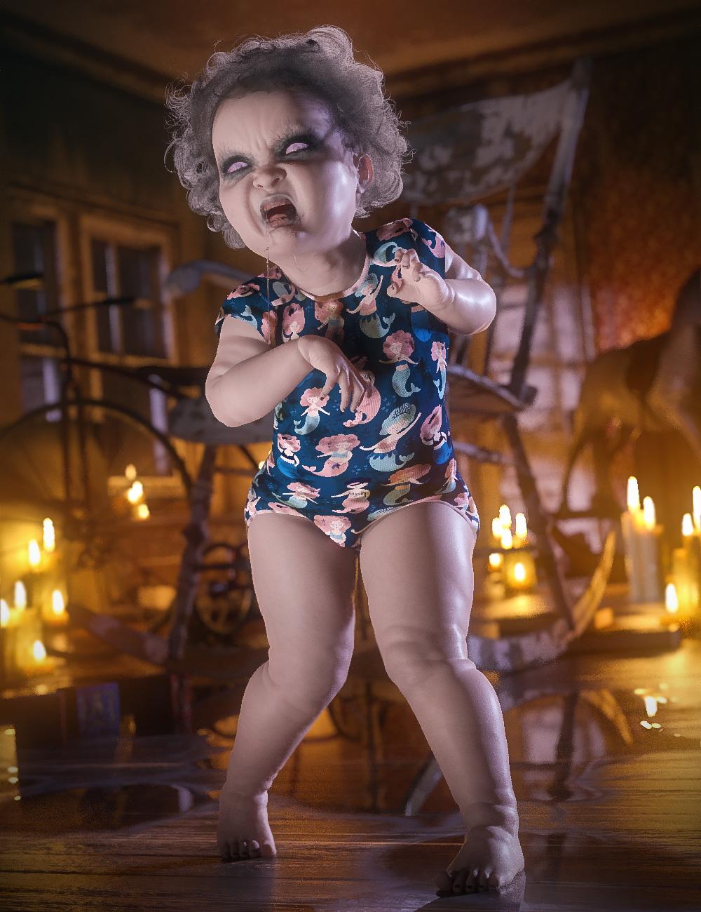 Ebil Baby for Caryn 8 by: Cris Palomino, 3D Models by Daz 3D