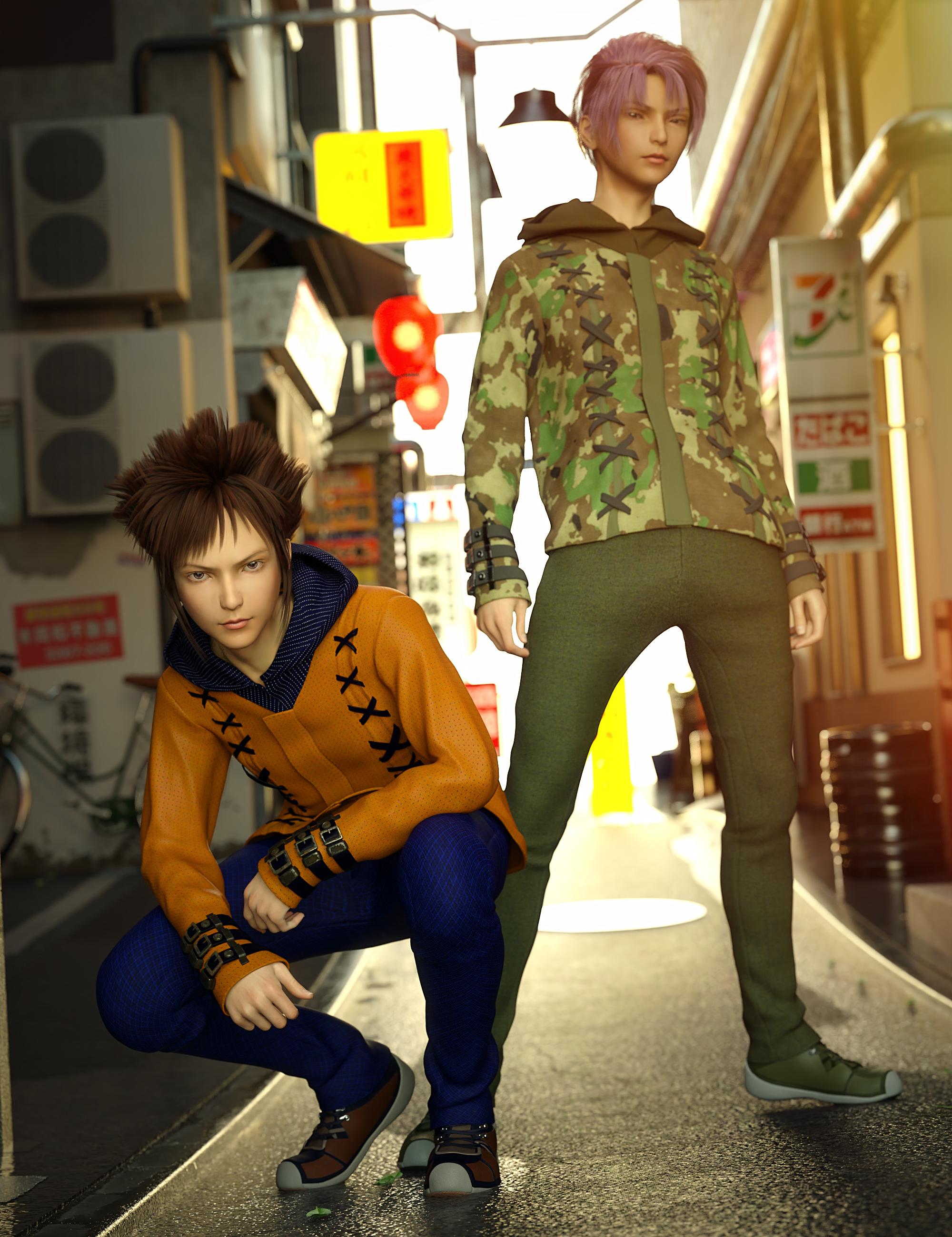 Windwalker Outfit Textures by: Anna Benjamin, 3D Models by Daz 3D