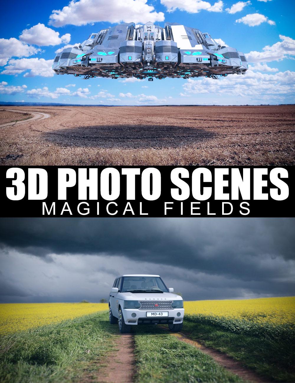 3D Photo Scenes - Magical Fields by: Dreamlight, 3D Models by Daz 3D