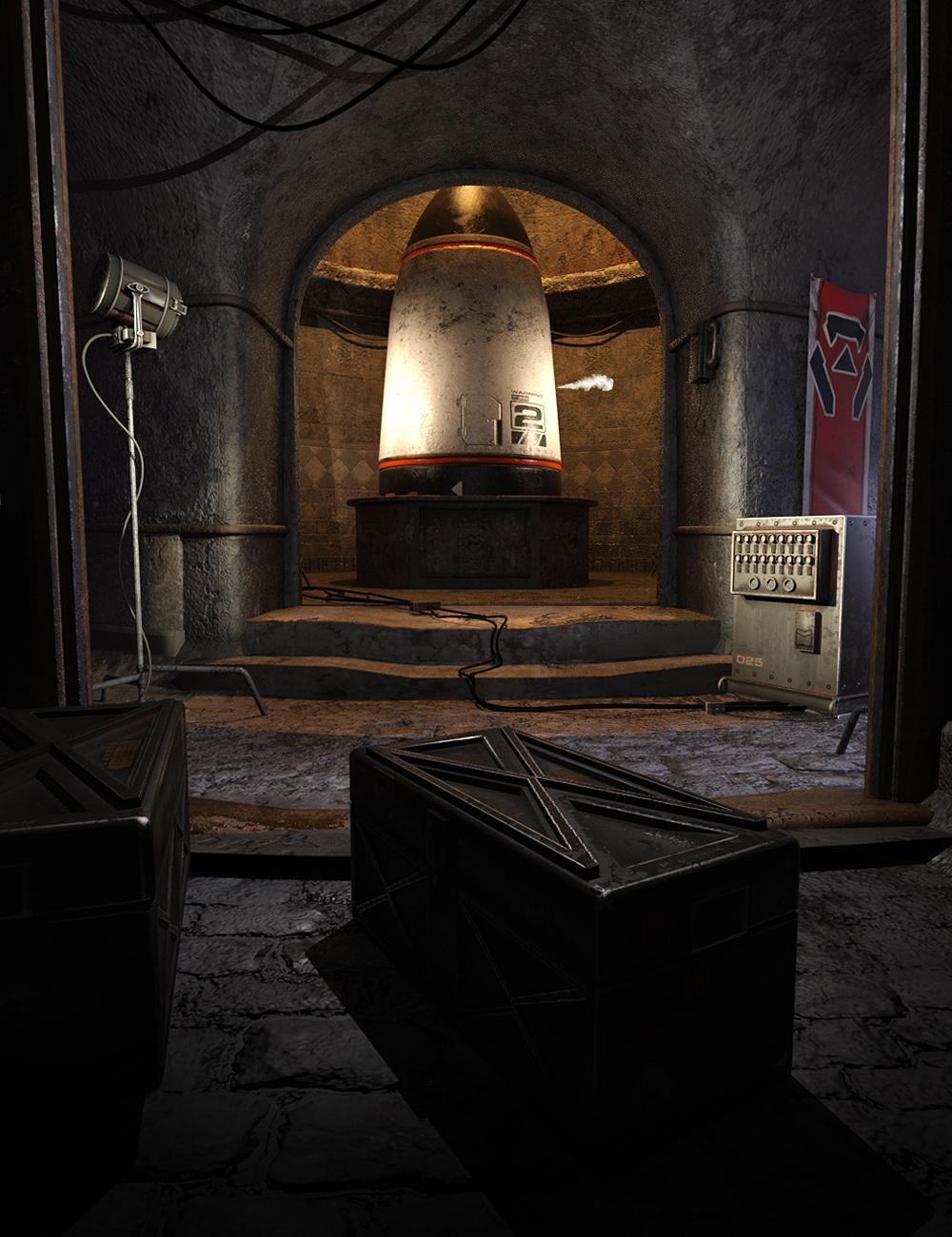 Underground War Room by: The AntFarm, 3D Models by Daz 3D