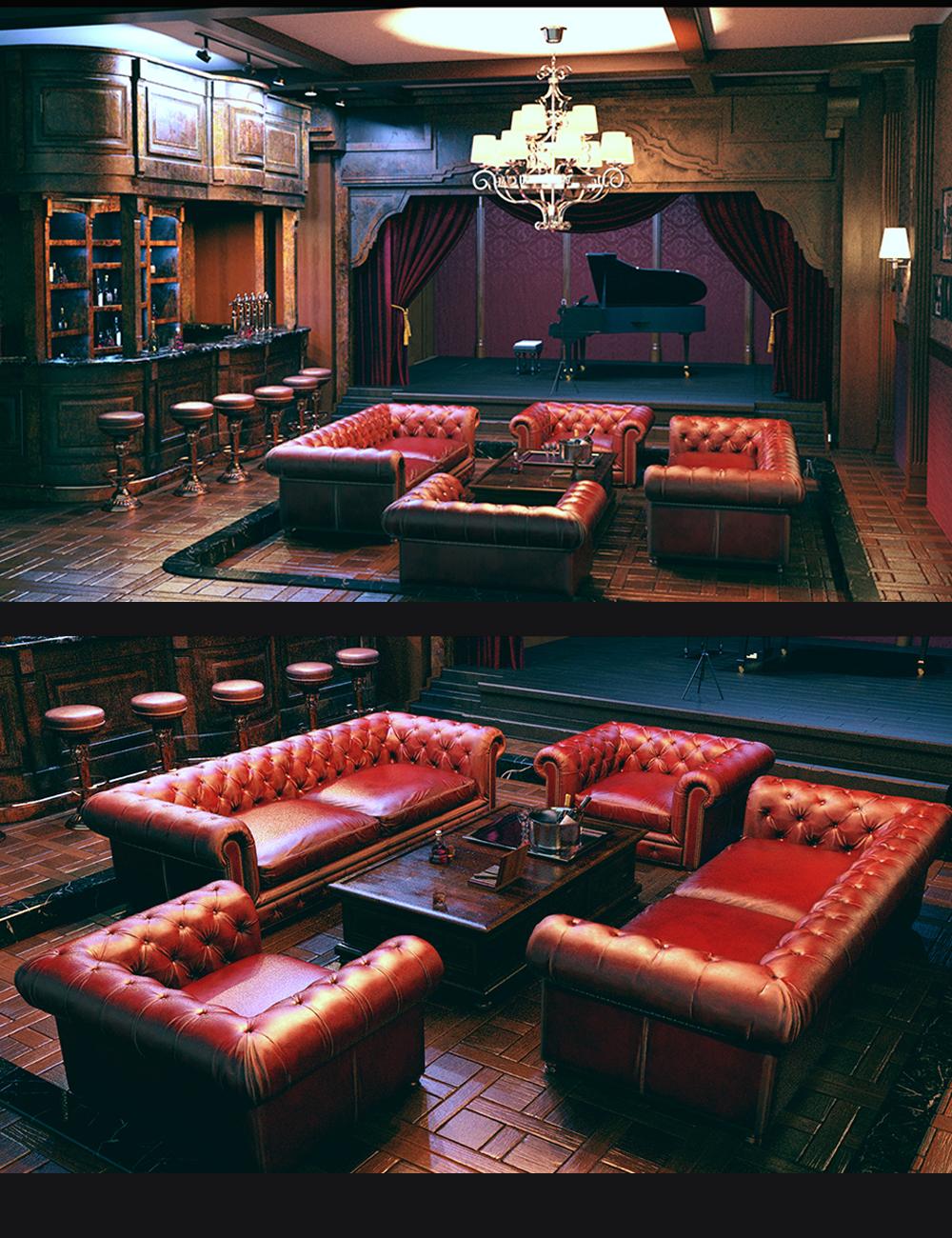 Mafia Private Bar by: Polish, 3D Models by Daz 3D