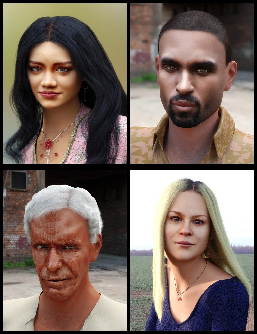 Face Transfer Shapes for Genesis 8 by: PhilW, 3D Models by Daz 3D