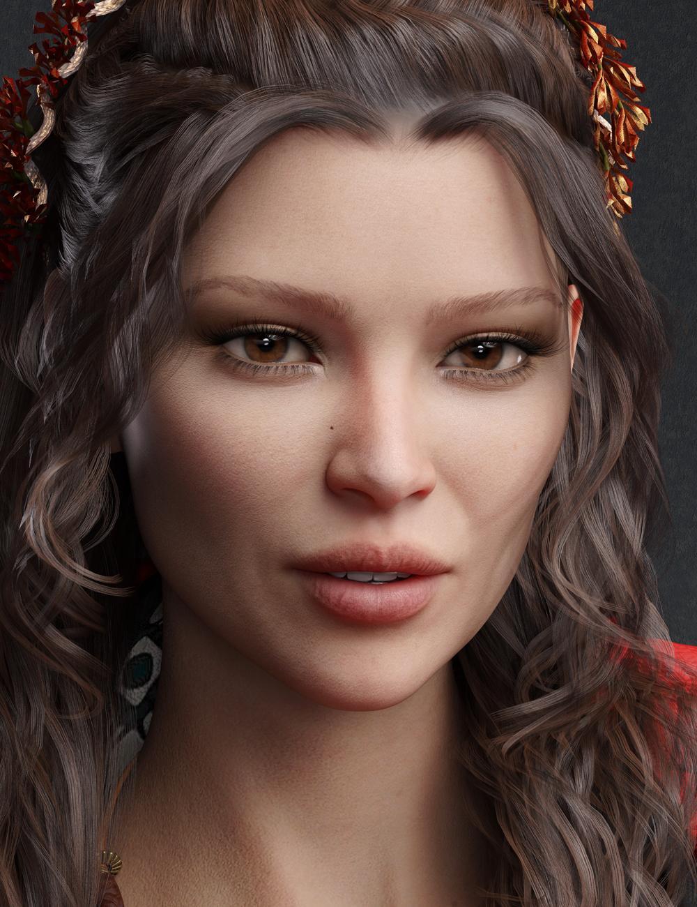 Sherisa HD for Genesis 8 Female by: Emrys, 3D Models by Daz 3D