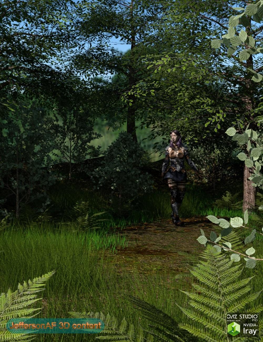 My Little Forest by: JeffersonAF, 3D Models by Daz 3D