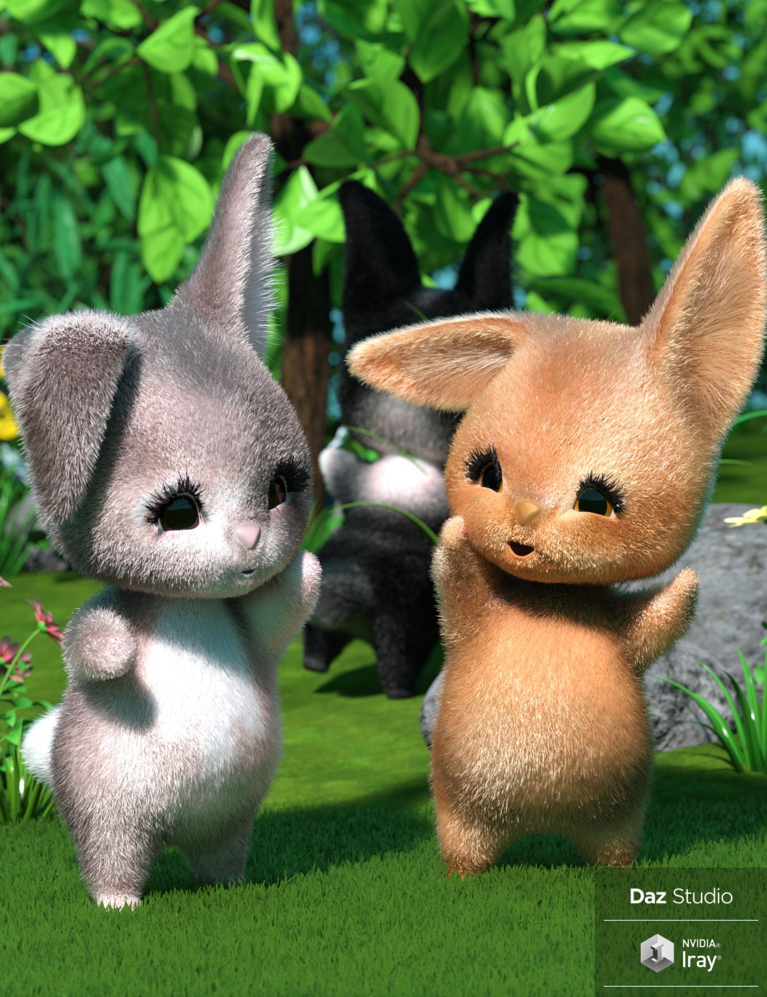 CinnaBun for Scamp The Fox by: 3D-GHDesign, 3D Models by Daz 3D
