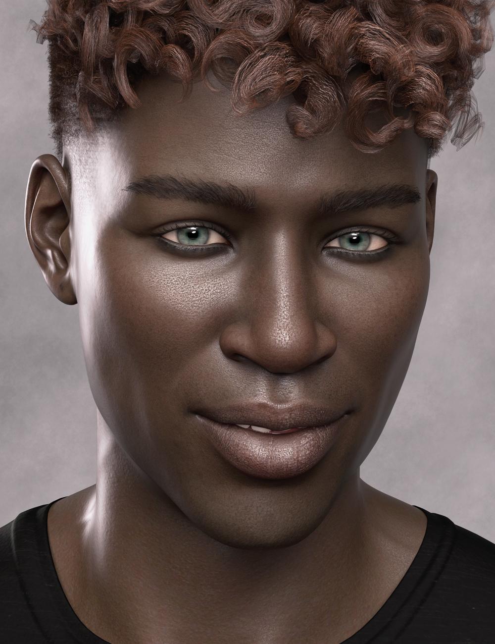 Aron HD for Genesis 8 Male by: Emrys, 3D Models by Daz 3D