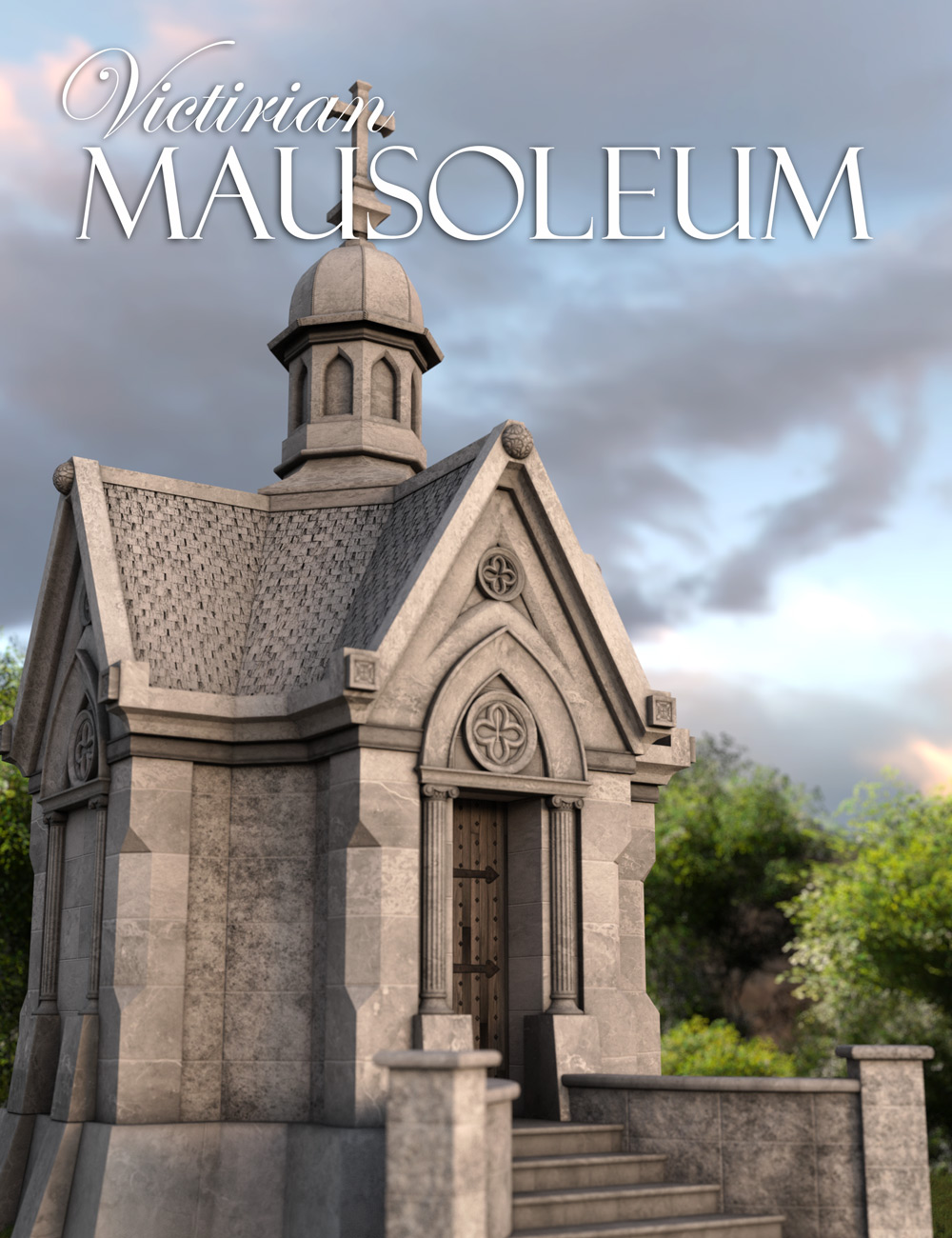 Victorian Mausoleum by: Age of Armour, 3D Models by Daz 3D