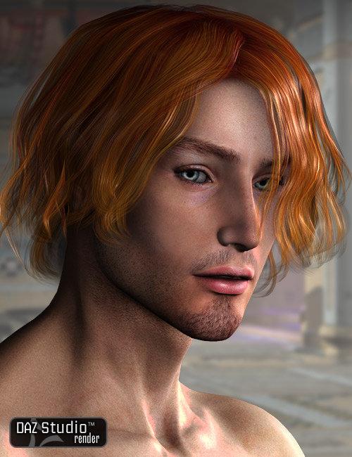 Osean Hair by: AprilYSH, 3D Models by Daz 3D