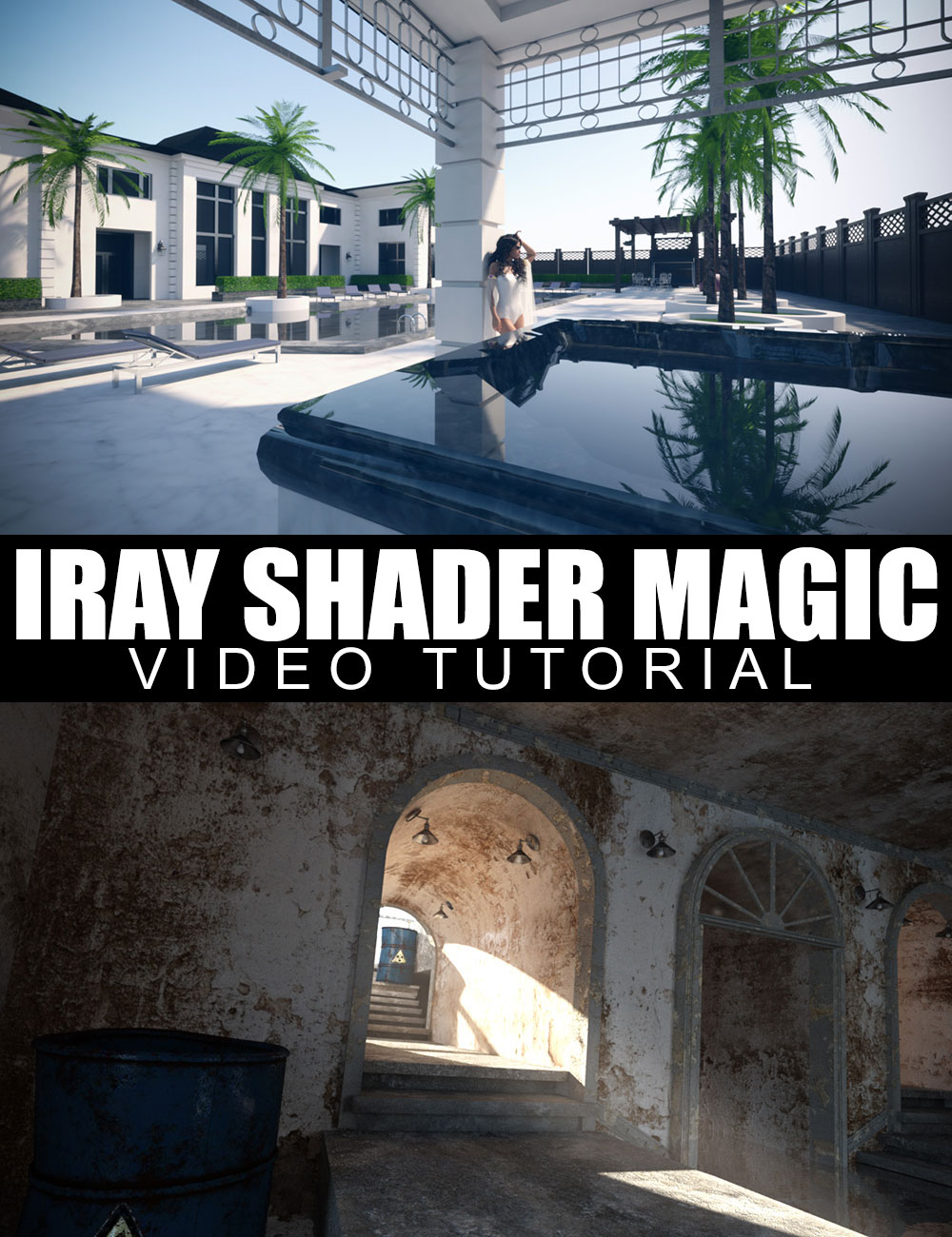 Iray Shader Magic - Video Tutorial by: Dreamlight, 3D Models by Daz 3D