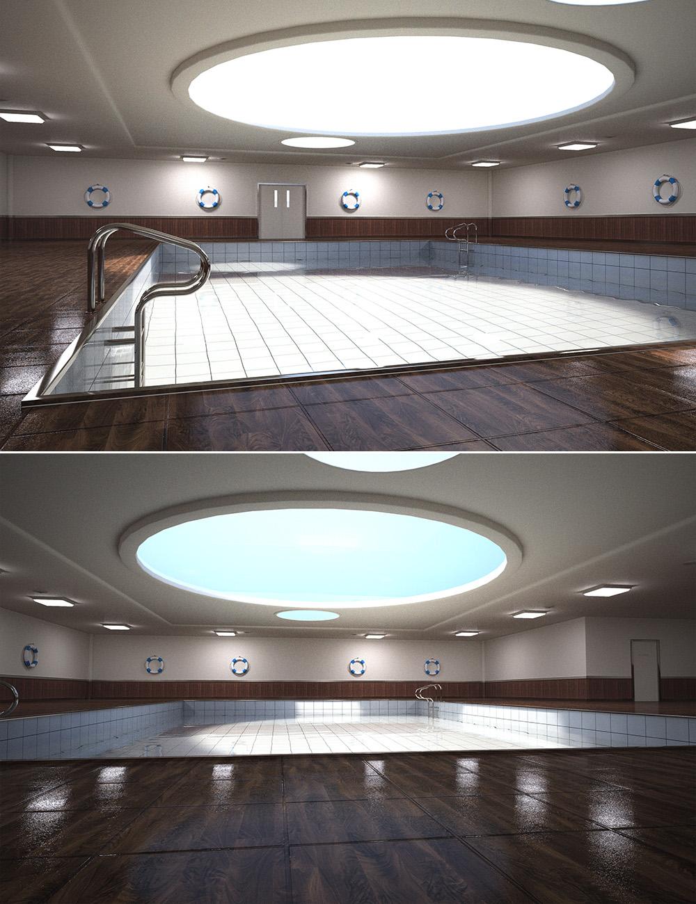 Utopia Indoor Pool by: , 3D Models by Daz 3D
