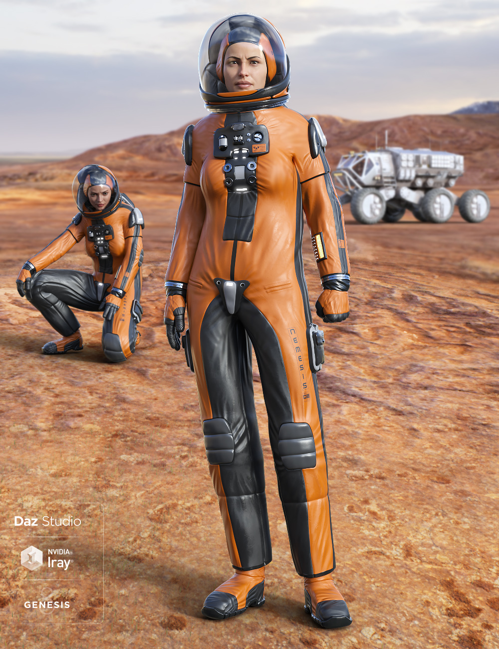 Universe Explorer for Genesis 8 Female(s) by: midnight_stories, 3D Models by Daz 3D